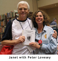 Janet A. Rudolph with Peter Lovesey