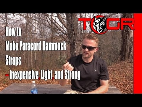 The Outdoor Gear Review How To Make Paracord Hammock Straps