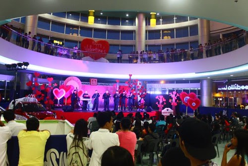 sm city naga the sound of love valentines day