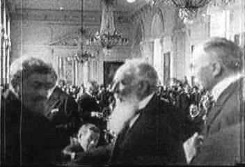 Signing the Treaty of Trianon