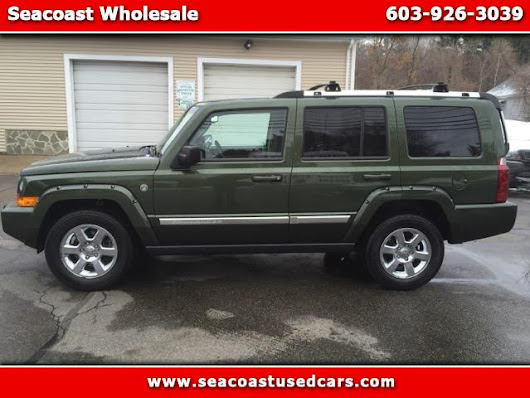 Used 2007 Jeep Commander for Sale in Hampton Falls NH 03844 Seacoast Wholesale