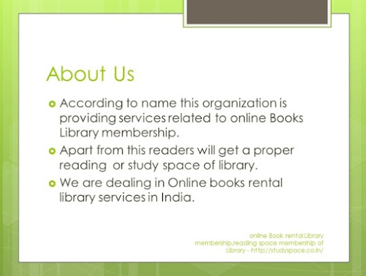 Study Space — Study space Library membership online booking...