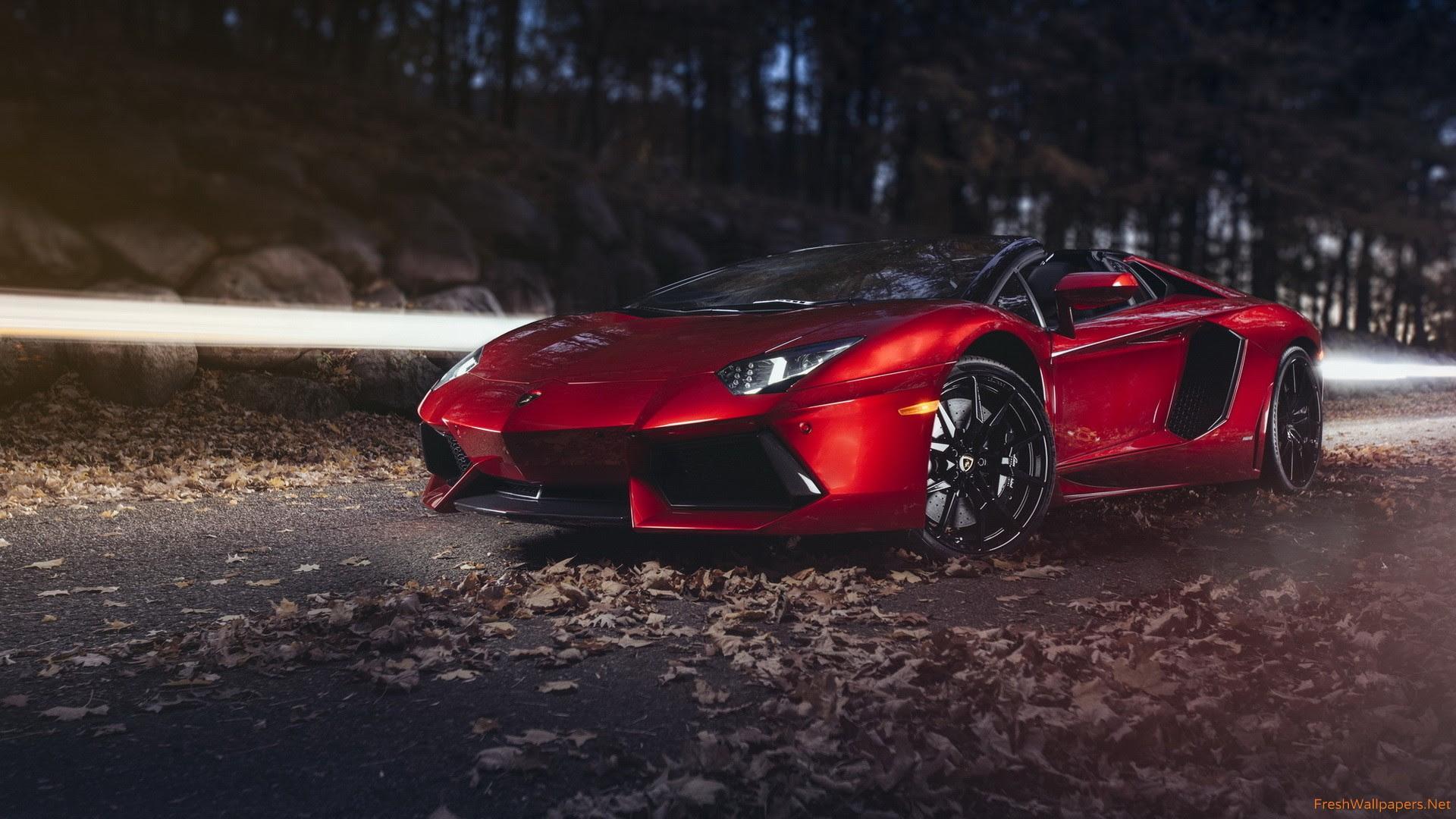 Lamborghini Aventador Roadster Hd Wallpaper 23569 Baltana