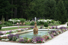 The formal garden at the Mount