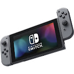 Nintendo Switch 32 GB Console with Gray Joy con