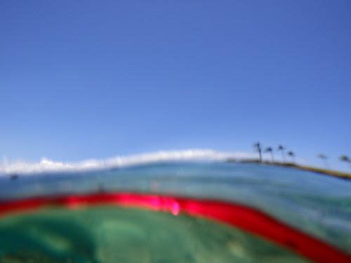 Abstract Seashore