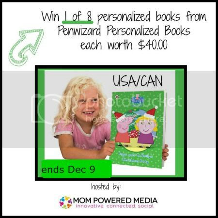 Giveaway: Penwizard Personalized Books – 8 Winners