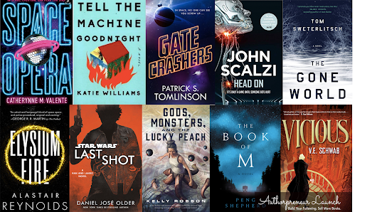 10 Best Sci-Fi Books of 2018 (So Far)