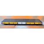 "47"" Amber Super Bright 132 LED Light Bar Warning Strobe Slim Design for Tow Truck Plow Police Fire EMS"