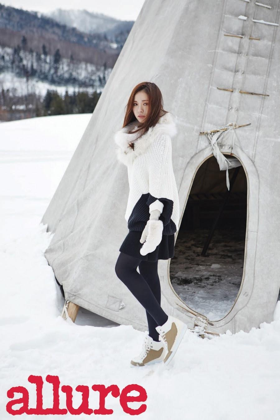 Shin Se Kyung - Allure Magazine January Issue '15