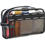 Travel Smart Transparent Sundry Pouch/Cosmetic Bag