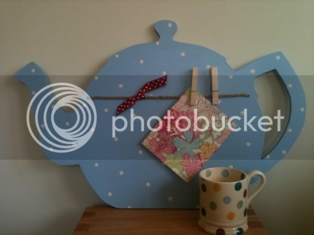 teapot noticeboard