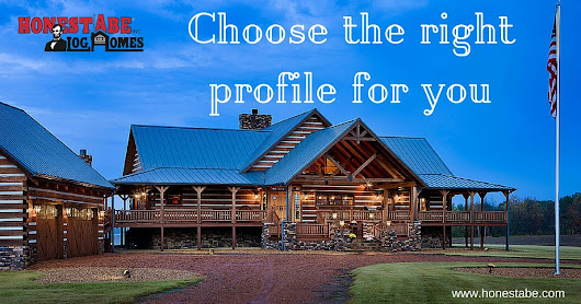 Log Profiles | Log Homes, Timber Frame and Log Cabins by Honest Abe