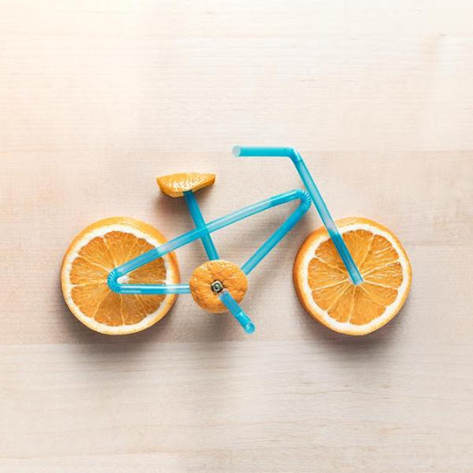 "Domenic Bahmann on Twitter: ""Juicing Along  #bikes #oranges """