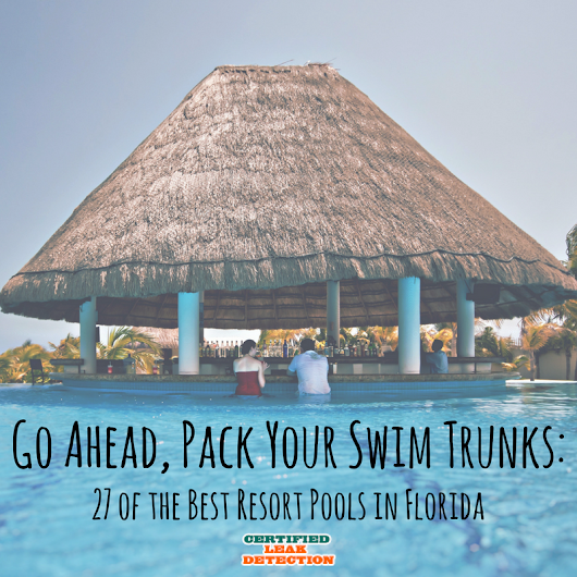 Go Ahead, Pack Your Swim Trunks: 27 of the Best Resort Pools in Florida | Certified Leak Detection of Orlando