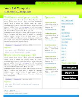 Web 2.0 Templates