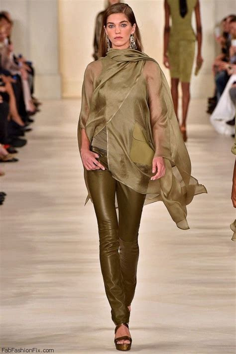 Ralph Lauren spring/summer 2015 collection   New York