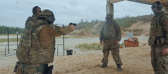 Vídeo mostra o treinamento arriscado dos agentes federais russos