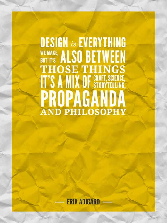 101 inspirational quotes for designers | Webdesigner Depot
