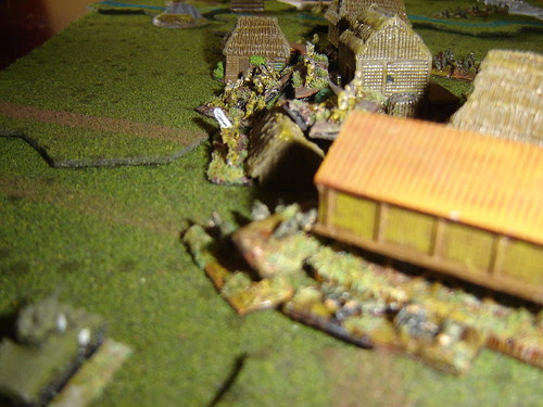 Japanese hold Town against Armour flanking attack [Battle for Agat Beach]