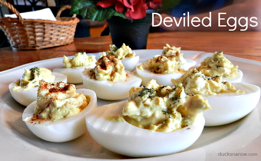 Classic Deviled Egg Recipe - Ducks 'n a Row