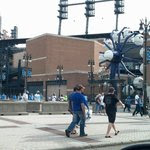 Ford Field and Comerica