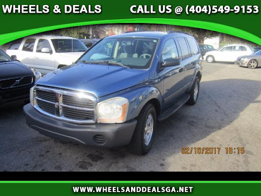 Used 2006 Dodge Durango SXT 2WD for Sale in Atlanta GA 30329 Wheels And Deals