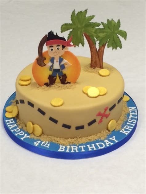 Jake and the Neverland Pirates Island Cake   Children's