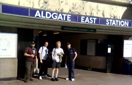 Cowfish and others at Aldgate East