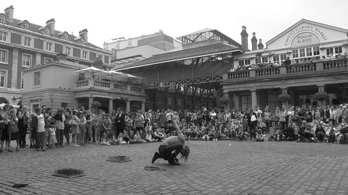 Contortionist Covent Garden by TheLostSociety