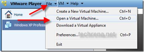VMware-open-virtual-PC