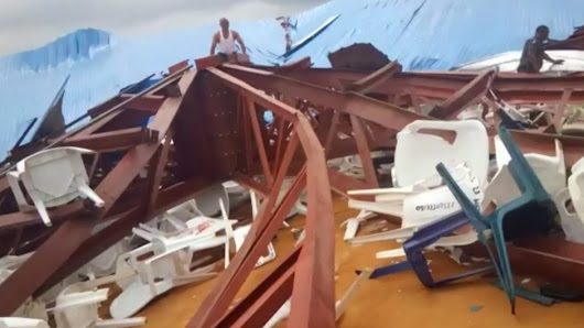 At least 160 killed after Nigerian church collapses