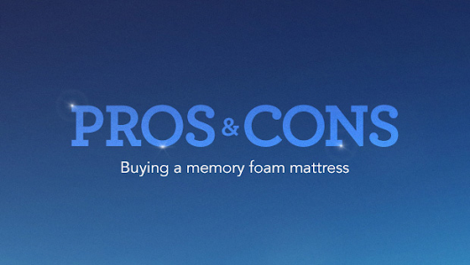 New Memory Foam Guide by The Best Mattress Explains Pros and Cons