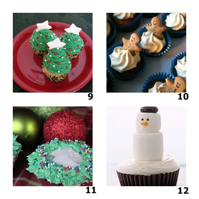 Christmas Tree Cupcakes at Amazing Moms