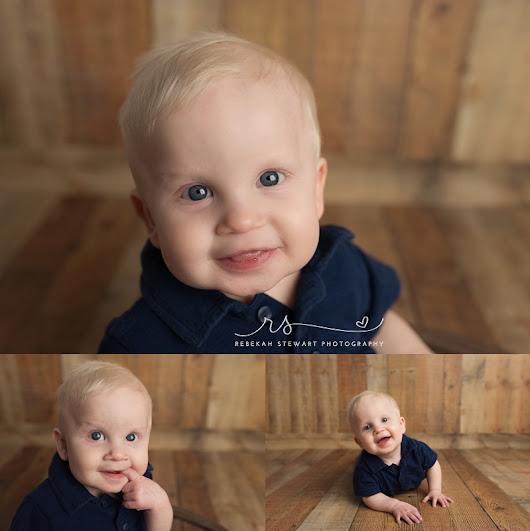 Noah is one! { baby photographer Cedar Rapids }