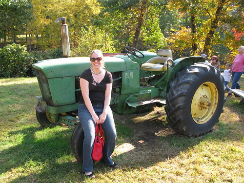 Val & the tractor