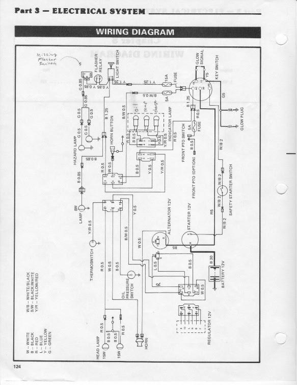 Ford 3000 Tractor Schematics