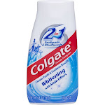 Colgate 2-in-1 Whitening Toothpaste Gel and Mouthwash - 4.6oz