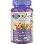 Garden of Life mykind Organics Prenatal Multi Gummies, Organic Berry, 120 Vegan Gummy Drops