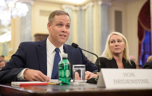 Senate confirms Jim Bridenstine as NASA's administrator after months of uncertainty