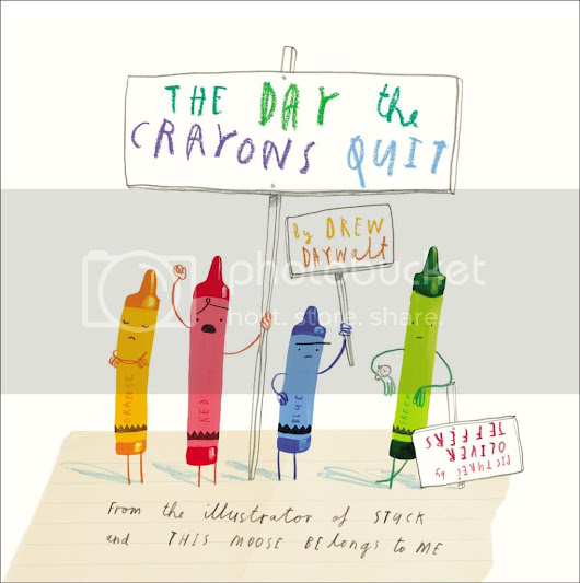 Drew Daywalt/ The Day The Crayons Quit