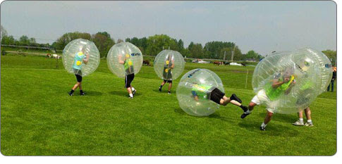 bubble football Stag Do Activity Ideas
