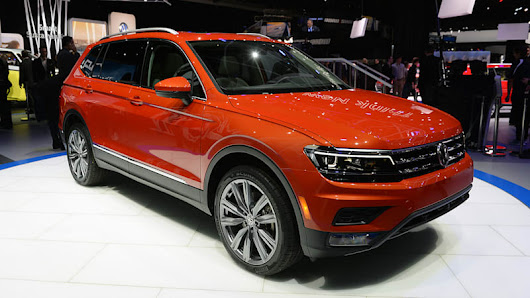 EMBARGO  - The 2018 Volkswagen Tiguan grows up to be a longer three-row crossover