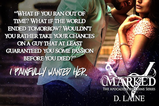 Book Blitz & Giveaway: Marked by D. Laine