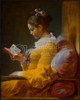 A young girl reading (1776?)
