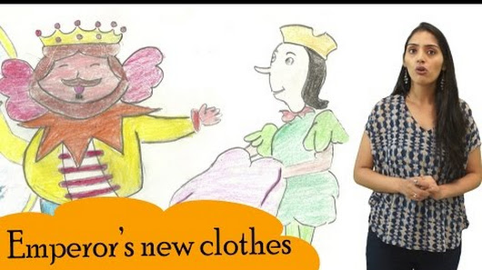 The Emperor S New Clothes Story In Hindi