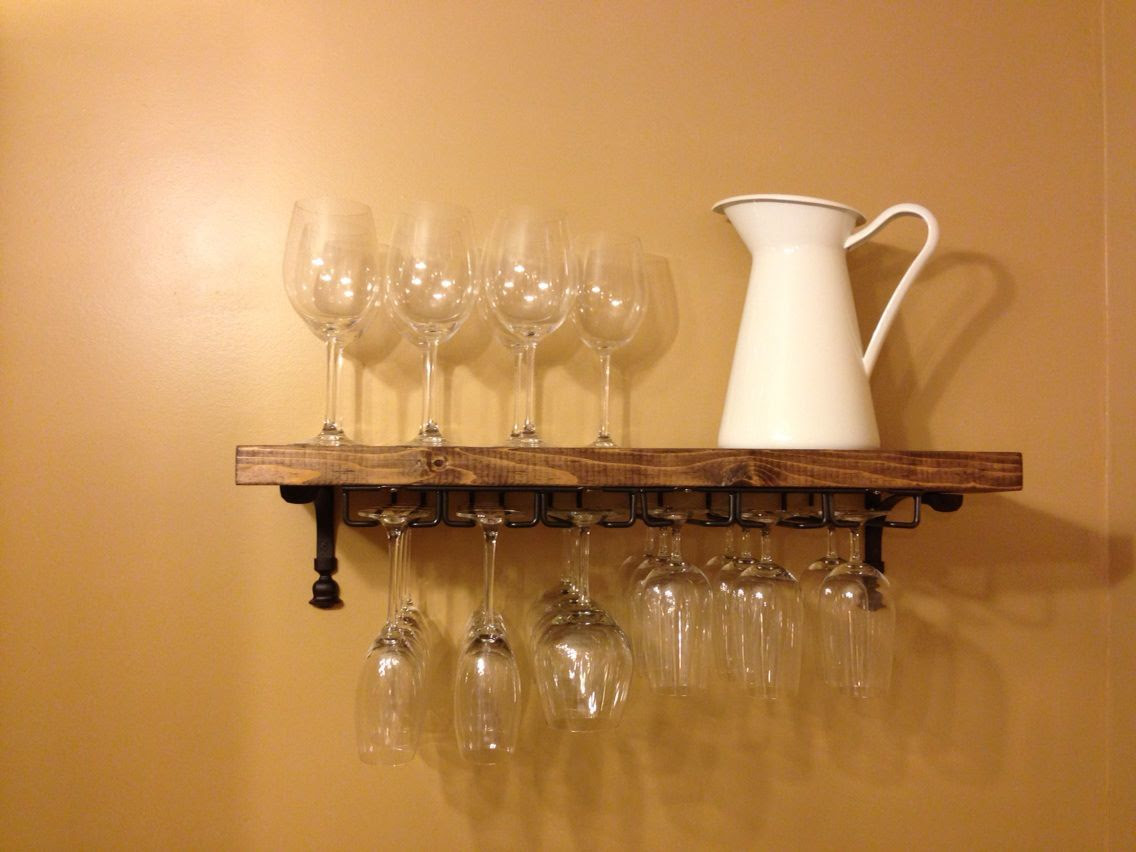 Ana White Wine Glass Rack Diy Projects