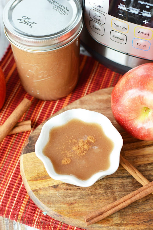Instant Pot Applesauce Recipe - A Mom's Impression