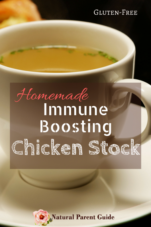 Homemade Immune Boosting Chicken Stock Recipe - Natural Parent Guide