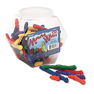 Learning Resources® - Measuring Worms, Math Manipulatives, for Grades Pre-K and Up - Sold As 1 Set - Colorful, squishy worms make counting, sorting and measuring fun.